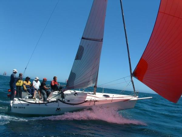 Pacer Yachts 27 Sport Under Sail