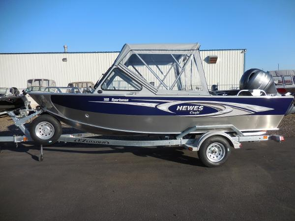 Northwest Boats 218 LIGHTNING OB HT