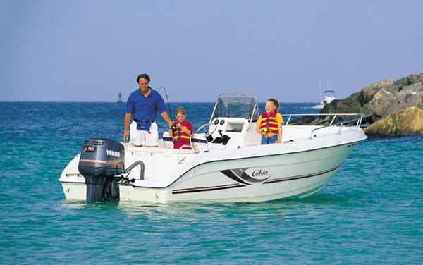 Cobia 214 Center Console Manufacturer Provided Image