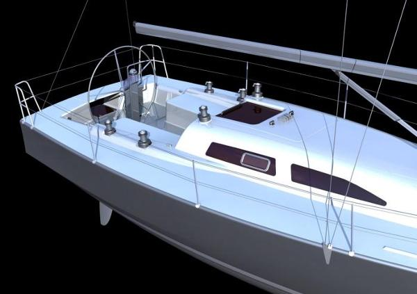 Pacer Yachts 376 CR Cockpit