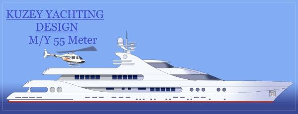 Yachtworld.L.t.d Turkey Mega Yacht project Side view