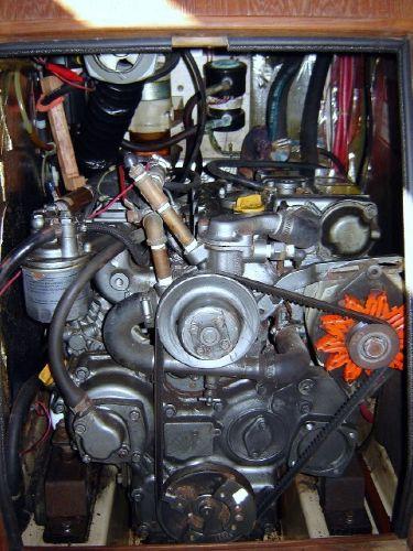 Yanmar diesel auxiliary