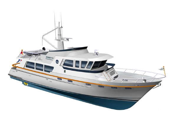 Goldwater 65 CE Trawler