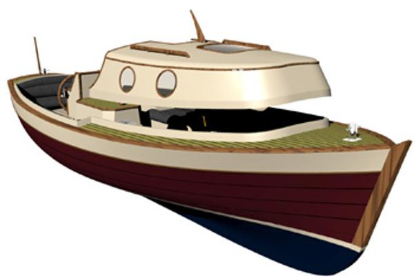 Classic Boat Project Turkey Front view