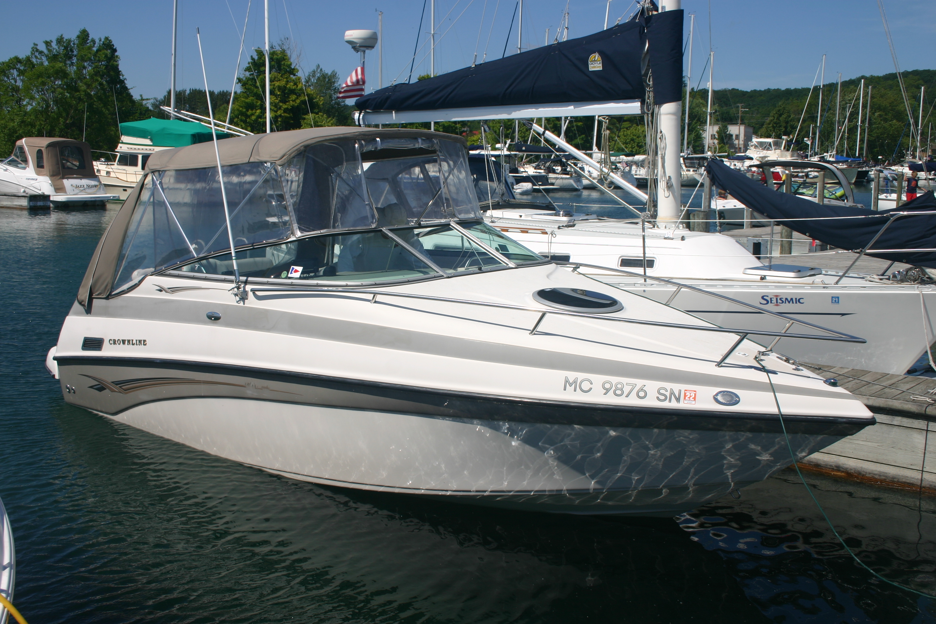 Crownline 230 CCR Starboard side
