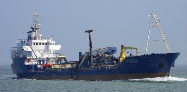 De Groot Suction Hopper Dredger Trailing Suction Hopper Dredger (1975)