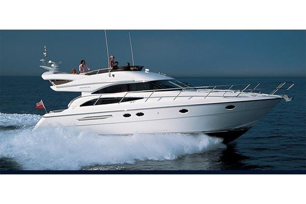 Princess 50 Flybridge Manufacturer Provided Image: Princess 50