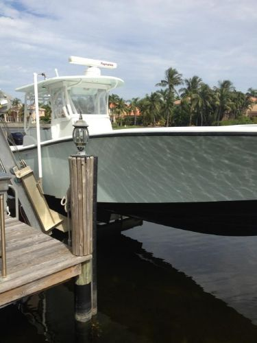 Yellowfin 36 Open CC 2006/2012 Starboard Bow Facing Aft