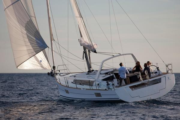 Beneteau Oceanis 48 OC 48 under sail