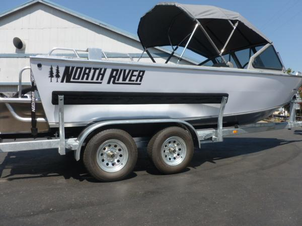 North River 20' Seahawk Extended Transom
