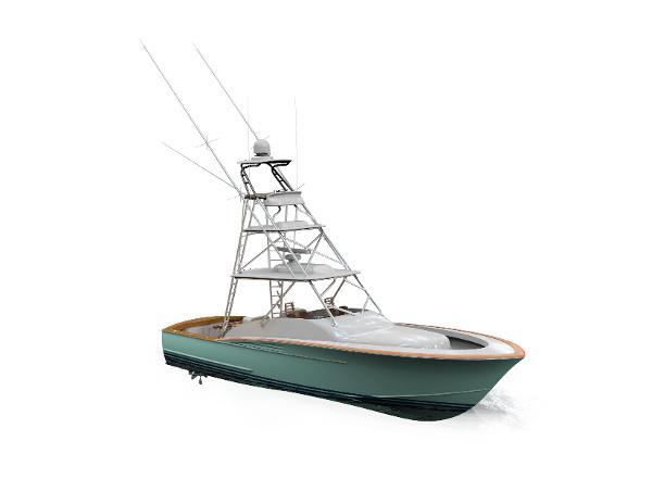 Winter Custom Yachts 46 WALK AROUND EXPRESS