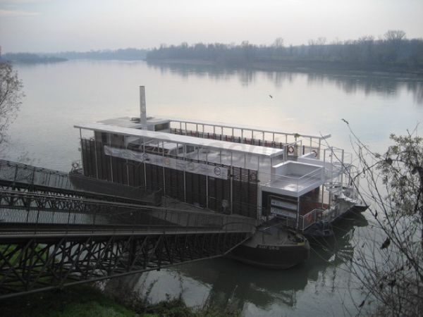 Custom Floating Restaurant