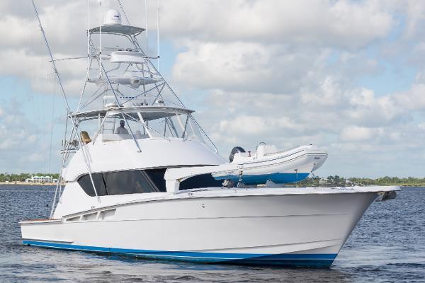"Hatteras Sport Fisherman Convertible 1998 60' Hatteras ""Blue Hooker"""