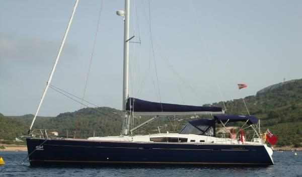 Beneteau Oceanis 54 Anchored up