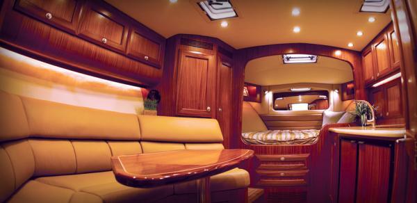 39 Express interior
