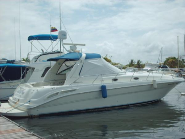 Sea Ray Sundancer Stern Profile
