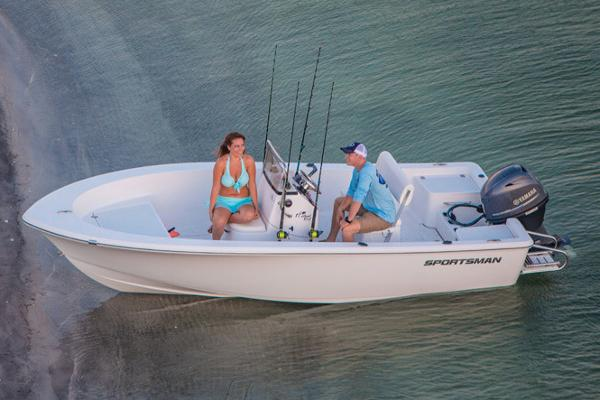 Sportsman Island Reef 17 Center Console Manufacturer Provided Image