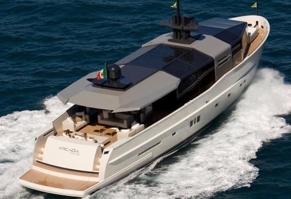 Arcadia 85 Motor Yacht Arcadia 85 - Profile