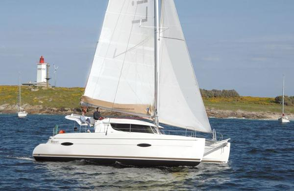 Fountaine Pajot Lipari 41 Side View