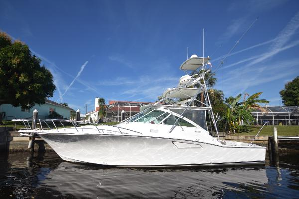"""Cabo Express 2003 40' Cabo Hard Top Express """" Four J's II"""" Profile"""