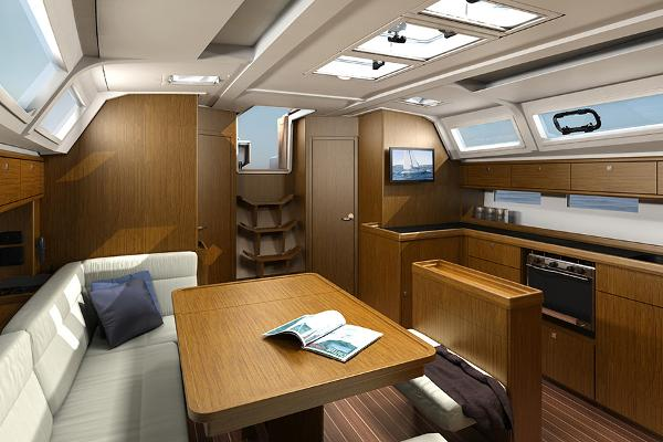 Bavaria Cruiser 46 Interior