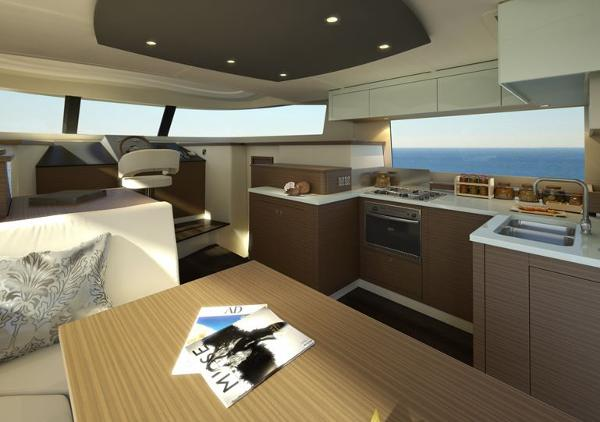 Fountaine Pajot Summerland 40 LC Galley