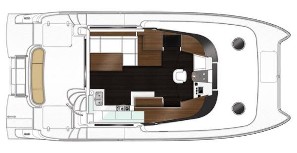 Fountaine Pajot Summerland 40 LC Deck Layout Plan