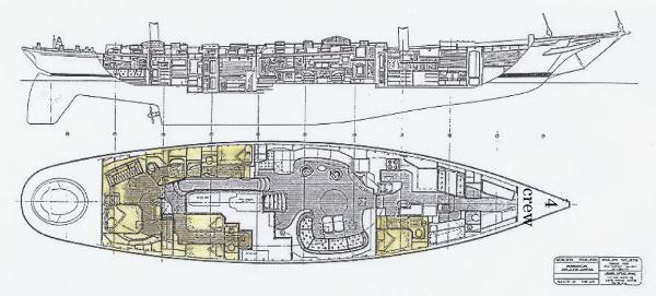 Renaissance 112ft Bruce King SIGNE voiliers d'occasion en vente à Majorque Espagne