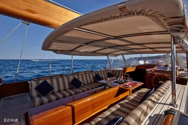 Bruce King SIGNE USA Sailing Yacht spirit of tradition for sale in Spain