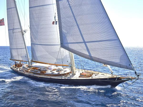 RENAISSANCE 112ft Bruce King Bruce King SIGNE USA Sailing Yacht spirit of tradition for sale