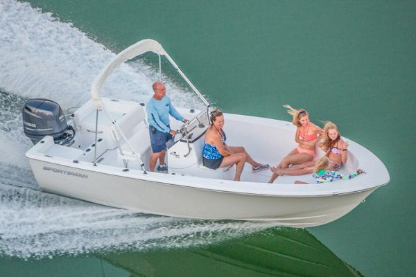 Sportsman Island Reef 19 Center Console Manufacturer Provided Image