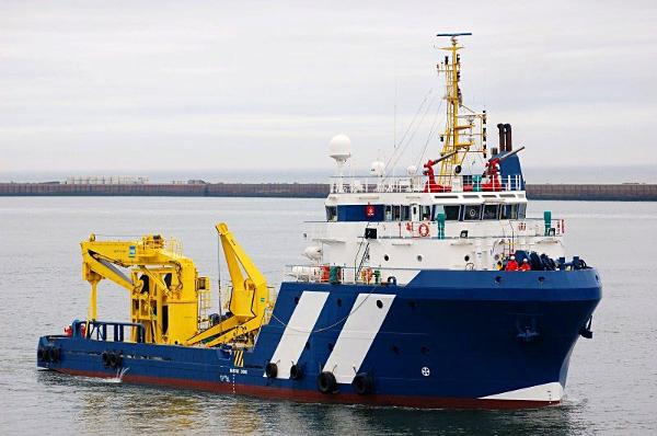 Custom Offshore Support Vessel