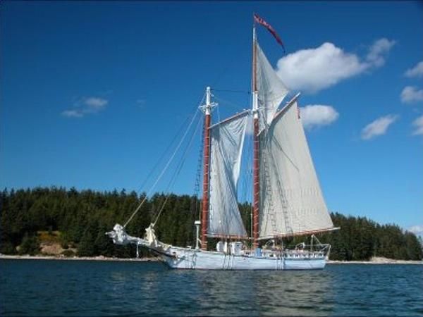 Classic Gaff Rigged Topsail Schooner