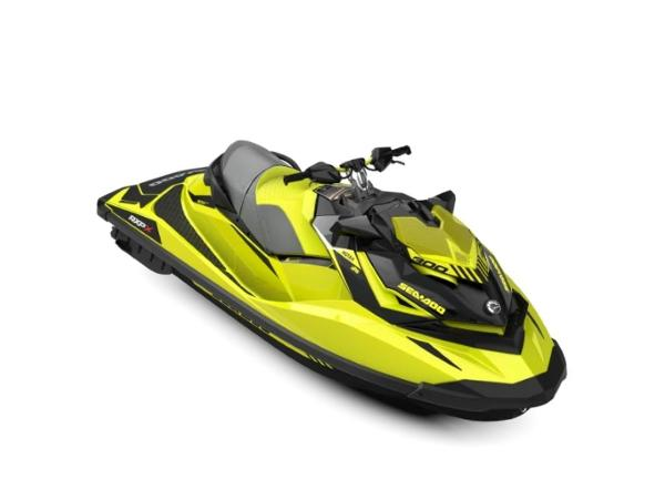 Sea-Doo RXP®-X® 300 Neon Yellow and Lava Grey