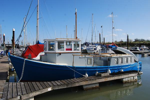 "Classic Watson 31ft Motor Yacht Converted Classic Motor Yacht ""Anita"""