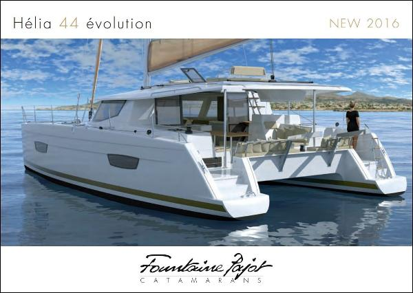 Fountaine Pajot HELIA 44 EVOLUTION MAESTRO