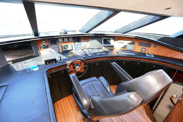 Millennium Yacht Pilothouse