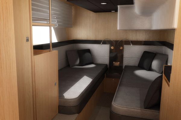 Bavaria Virtess 420 Fly Twin Cabin