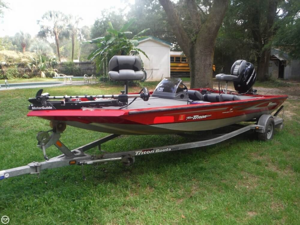 Used triton freshwater fishing boats for sale for Used fishing boats