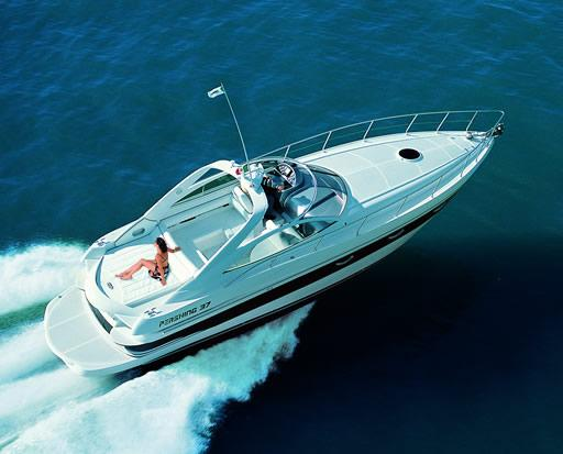 Pershing 37 Manufacturer Provided Image: At Sea