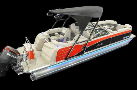 Avalon Catalina Platinum Elite Windshield 25'-Mercury 350hp