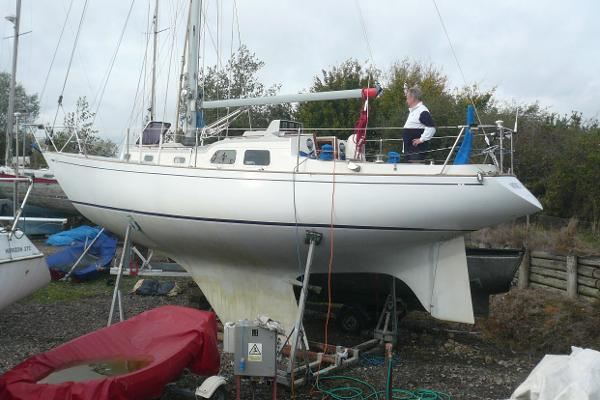 Sparkman & Stephens 34 Ashore