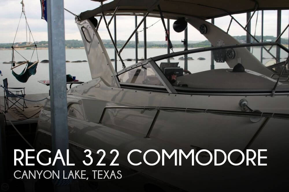 Regal 322 Commodore 1999 Regal 322 Commodore for sale in Canyon Lake, TX