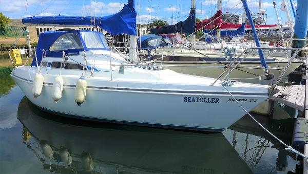 Hunter Horizon 273 Bilge Keel Hunter Horizon 273