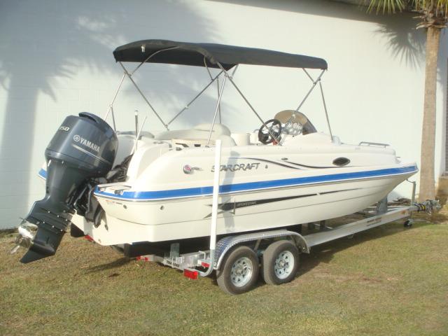 Starcraft Deck boat Coastal 2009 OB