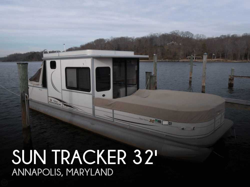Sun Tracker PARTY CRUISER 32 Regency Edition 2005 Sun Tracker Party Cruiser 32 Regency Edition for sale in Annapolis, MD