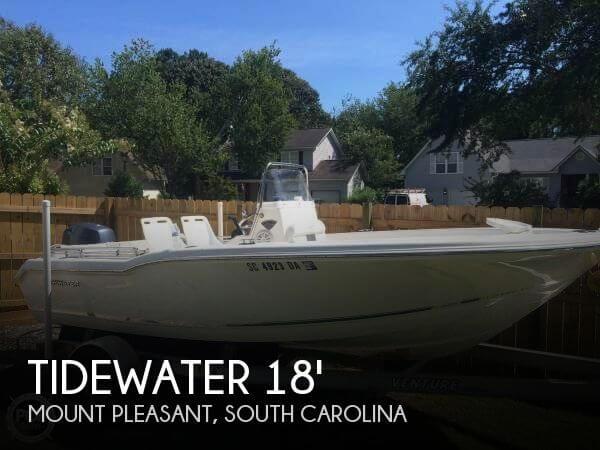 Tidewater Boats 180 Adventure Cc 2014 Tidewater 180 CC Adventure for sale in Mount Pleasant, SC
