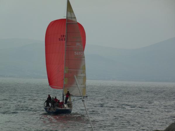 Sailing under Spinnaker