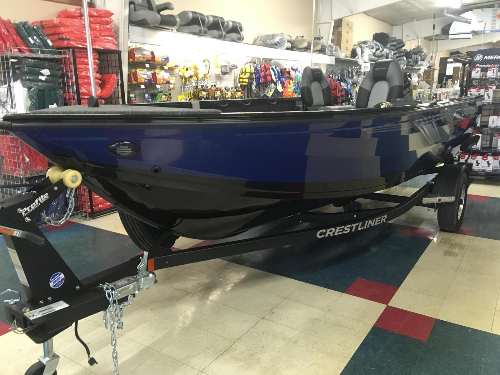 Crestliner 1650 Pro Tiller