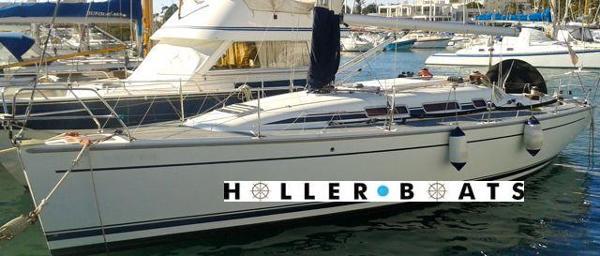 Dehler 36 SQ port hull view